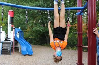 Hanging around!