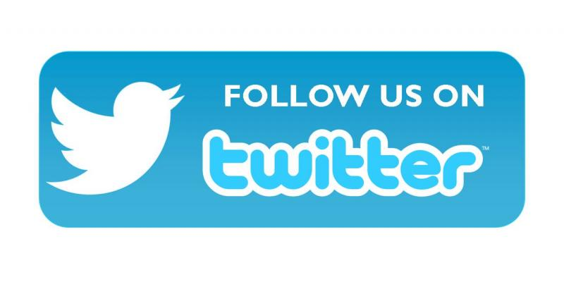 Follow Us on Twitter Logo
